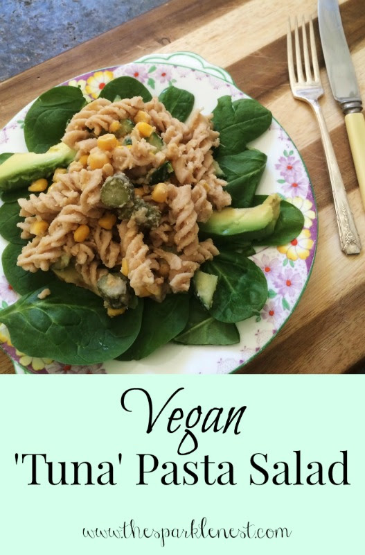Vegan Tuna Pasta Salad Recipe