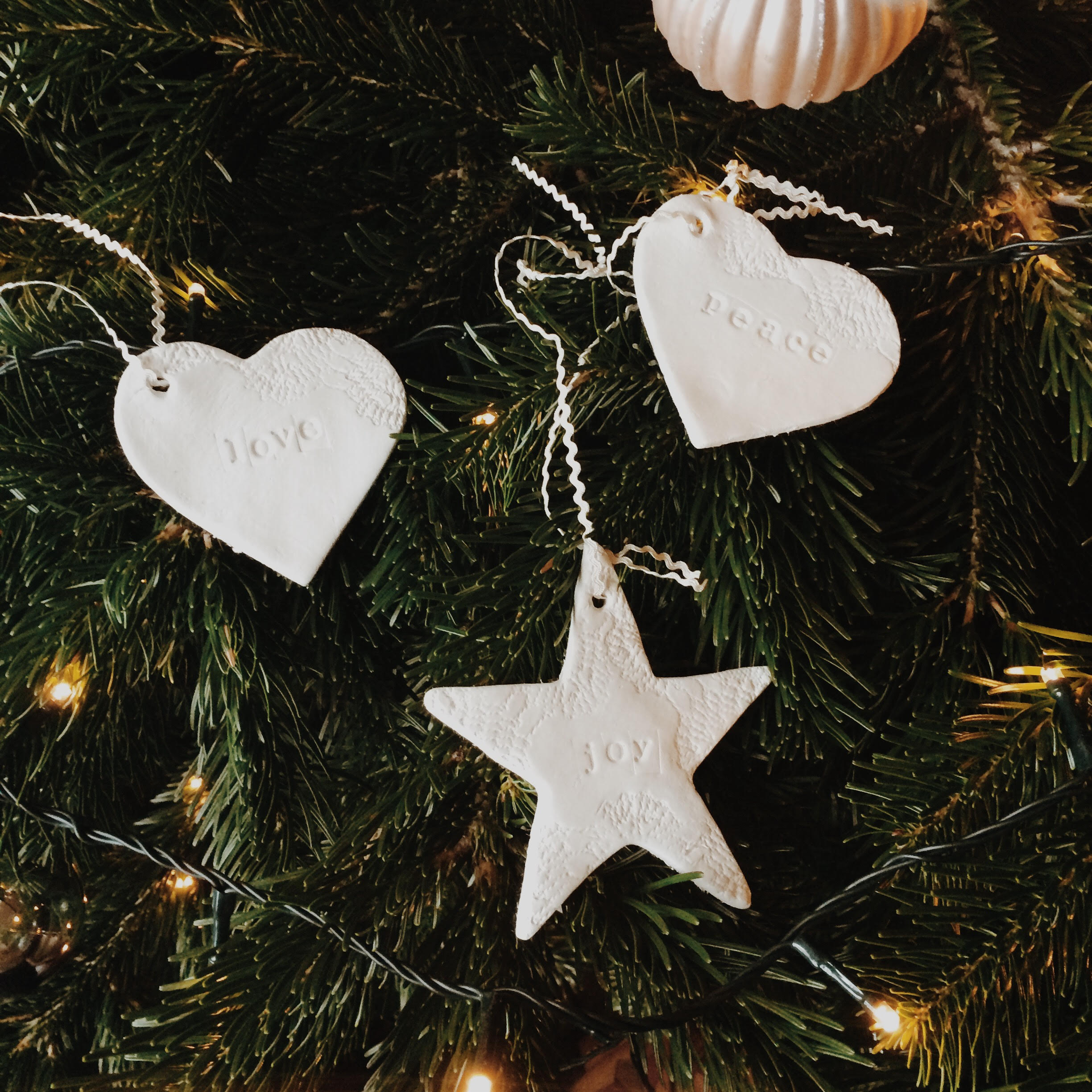 Handmade Personalised Tree Ornaments The Sparkle Nest